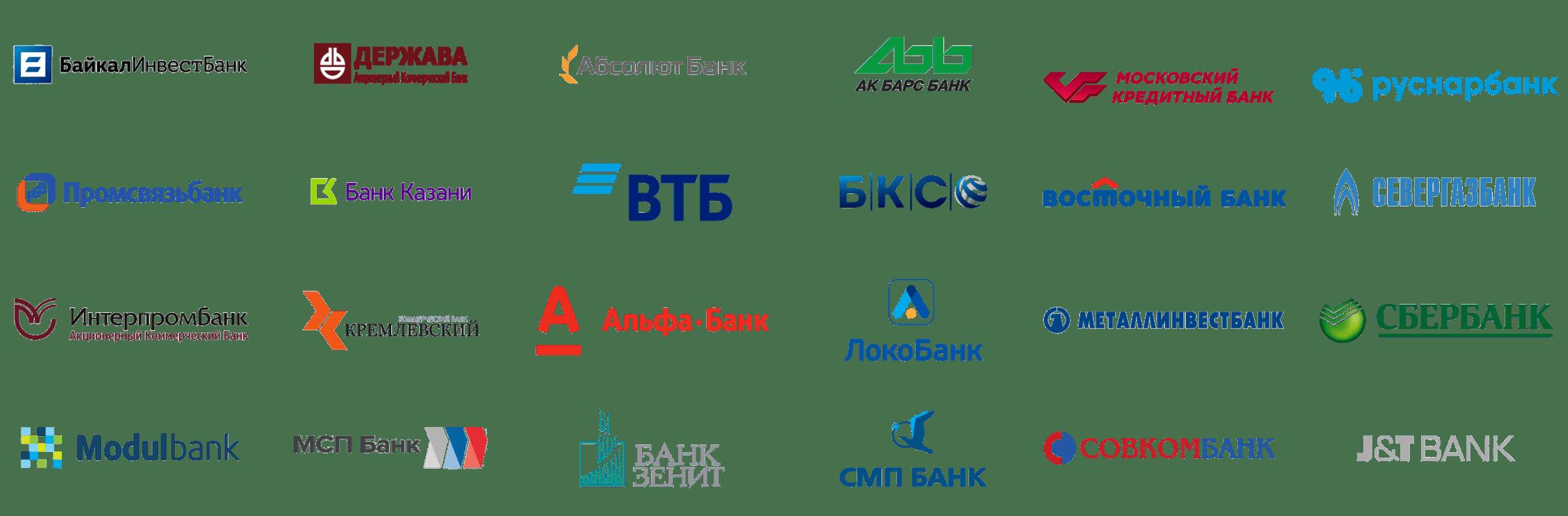 Спецсчета для обеспечения заявок список банков